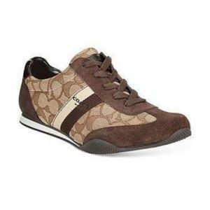 NEW Coach Shoes 8.5B Kelson Brown Signature